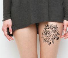 Thigh tattoos... slutty? Yay or nay? Because I kinda like the idea....