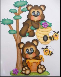 Ursos amigos
