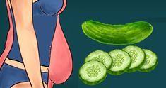 Grâce à ce régime à base de concombres, faites fondre vos kilos en trop en seulement une semaine !...