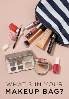 What S In Your Makeup Bag Give Look A Little Spring Refresh With Anything From