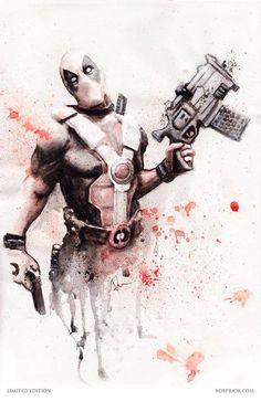 Deadpool by Rob Prior *