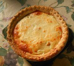 Hatch chile onion pie