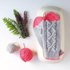 The Dotty Mitts are a lovely combination of traditional and modern! Their lovely winding cables and moss stitch body create a lovely texture at your finger tips, while the tops, thumbs and contrasting cast on give a bright pop of colour to spice up murky, grey days! Find this pattern at LoveKnitting.Com.