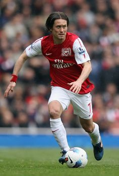 Tomas Rosicky: One my of absolute favourite players from the current squad. I sure hope he sticks around next year.
