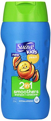 Suave Kids 2 in 1 Shampoo  Conditioner Peach Smoothers 12 oz *** Visit the image link more details. Note:It is affiliate link to Amazon.
