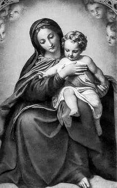 Jesus Faith, Faith Prayer, Religious Photos, Religious Art, Dali Paintings, Mary And Jesus, Madonna And Child, Blessed Virgin Mary, Guardian Angels