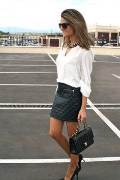 Fashion and Style Blog / Blog de Moda . Post: Working as a Personal Shopper / Trabajando como Personal Shopper See more/ Más fotos en : http://www.ohmylooks.com/?p=4079 by Silvia García Blanco