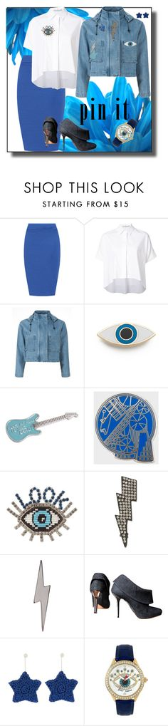 """""""Eye love pins"""" by joyfulmum ❤ liked on Polyvore featuring WearAll, Alice + Olivia, Être Cécile, Georgia Perry, agnès b., Paul Smith, Shourouk, INC International Concepts, Edge Only and Michel Perry"""