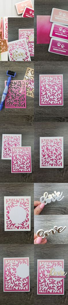 Spellbinders | Positive & Negative Die Cutting - One Die 2 Ways by Yana Smakula. Using Spellbinders S6-117 Framed Floral Celebrate the Day by Marisa Job Etched Dies #cardmaking #handmadecard #diecutting