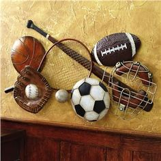 kids vintage sports room Vintage Football Helmet 11x14 print