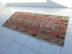 Oushak rug, floor rug, area rug, turkish rug, handwoven rug, antique rug,Overdyed rugs oushak floor rugs, bohemian rugs, faded rug, rug by Simavrug on Etsy