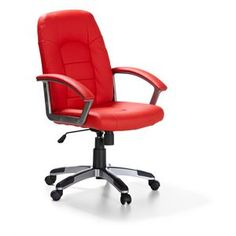 My Serioso Liked The Look Of This One From Officeworks Hummingbird Euro Chair Red