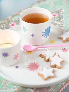 weihnachtlich teestund susan liebe porzellan http://www.wunderschoen-gemacht.de/shop/47-porzellanserie-stars wunderschön-gemacht: sternstunden