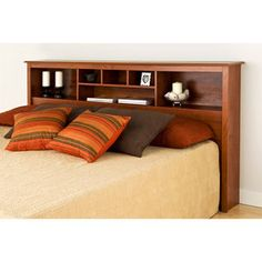 Edenvale King Storage Headboard, Cherry....found at Walmart.com of all places! $139 as of 2.17.14