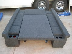 Tacoma LB Storage/Carpet Kit Click this image to show the full-size version.Click this image to show the full-size version. Pickup Camping, Truck Bed Camping, Truck Tent, Camping Hammock, Kayak Camping, Camper Tops, Diy Camper, Pick Up, Accessoires Camping Car