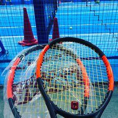 Pinを追加しました!/錦織圭選手負けちゃって残念です。 休日 #修行 なう。 #wilson #tennis #burn95cv