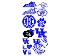 University of Kentucky Logo Vinyl Decals