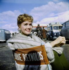 """DEBBIE REYNOLDS ~ Born: April 1st, 1932 in El Paso. Reynolds wasn't a dancer until she was selected to be Gene Kelly's partner in """"Singin' in the Rain"""" (1952). She survived losing first husband Eddie Fisher to Elizabeth Taylor following the tragic death of Michael Todd. Her 2nd husband, Harry Karl, gambled away his fortune as well as hers. Mother of Carrie Fisher, (Princess Leia Organa in the original Star Wars trilogy) One of the few actresses to have danced with both Fred Astaire, Gene…"""