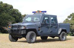 A Agrale, em parceira com a OTT Blindados, apresentou o Agrale Marruá AM 200 4x4 blindado na Feira Internacional de Tecnologia, Serviços e Produtos para a Segurança Pública 2012 (Interseg)