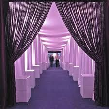 hallway idea - white walls and purple lighting- Google Search
