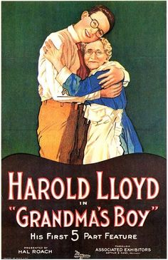(1922) 'Grandma's Boy' starring Harold Lloyd