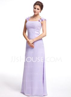 Bridesmaid Dresses - $118.99 - Empire Sweetheart Floor-Length Chiffon Bridesmaid Dress With Ruffle (007025355) http://jjshouse.com/Empire-Sweetheart-Floor-Length-Chiffon-Bridesmaid-Dress-With-Ruffle-007025355-g25355