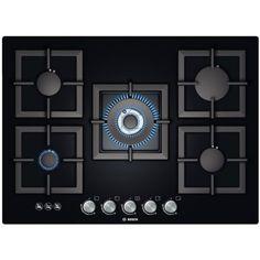 Bosch - 70cm Glass Gas Hob Cooktop - PPQ716B21A - 1
