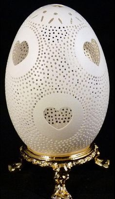 Engraved Goose Egg Lovely by JFDdesigns on Etsy