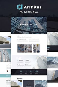 Check out the demo of the Architus - Construction WordPress Theme ( to find out what this design is before you decide to buy it. View the pages, examine the images, press the buttons, explor Login Web, Admin Login, Free Web Page, Pag Web, Advertising Strategies, Cabin In The Woods, Modern Website, Packaging, Design Websites