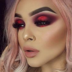 Valentine's Day Makeup Looks – a pretty idea for Valentines makeup or date night. Valentine's Day Makeup Looks – a pretty idea for Valentines makeup or date night. Makeup Goals, Makeup Tips, Beauty Makeup, Makeup Ideas, Makeup Tutorials, Makeup Set, Makeup Brands, Makeup Hacks, Makeup Products