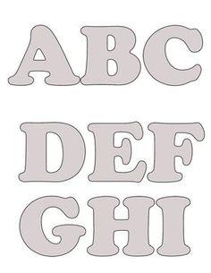 """Olha só estes moldes do alfabeto que preparei, inicialmente para decorar a """" Cesta do Amor"""" ,  na igreja ondecongrego, usada para receb..."""