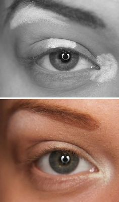 Highlighting Your Eyes Want to make your eyes appear bigger and brighter? Add highlighter (or white shadow) to your inner lid onto the corne...