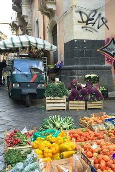 Riot of colors in the market in Catania, Sicily   BrowsingItaly.com