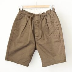 【Men's&Ladies'】ordinary fits オーディナリーフィッツ Travel shorts : kahki トラベルショーツ カーキ