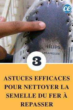 3 Astuces Efficaces pour Nettoyer la Semelle du Fer à Repasser.