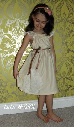 Lucy Vintage Inspired dress summer dress easter by LuLuetGiGi, $60.00
