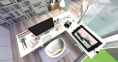 Mony Sims: Home office - Pinterest • Sims 4 Downloads