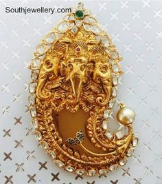 Ganesh Puligoru Pendant photo