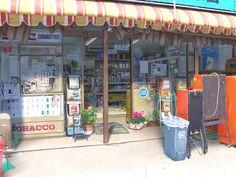 フリー素材 背景 商店