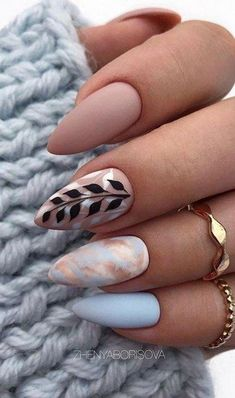 36 Amazing Natural Short Almond Nails Design For Fall Nails Nails Art Ideas - Fall nails ideas - Classy Almond Nails, Short Almond Nails, Classy Nails, Fall Almond Nails, Almond Nails Designs Summer, Simple Nails, Long Nail Designs, Fall Nail Art Designs, Chic Nails