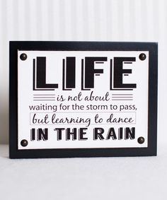 Another great find on #zulily! 'Life' Canvas Wall Sign #zulilyfinds