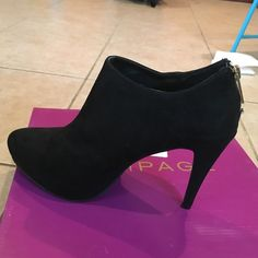 Brand new Mari A. Black ankle booties Brand new black Mari A. Ankle booties. Super cute. True to size Mari a Shoes Ankle Boots & Booties