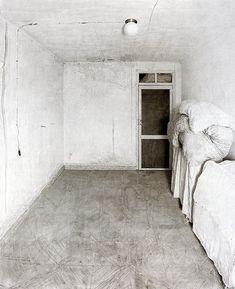 Antonio Lopez Garcia, Room in Tomelloso 1972, pencil