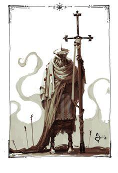 Plague Knight, Oliver Odmark on ArtStation at http://www.artstation.com/artwork/plague-knight
