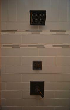 Delta Dryden Shower Fixtures MODERN COTTAGE BATHROOM RENOVATION