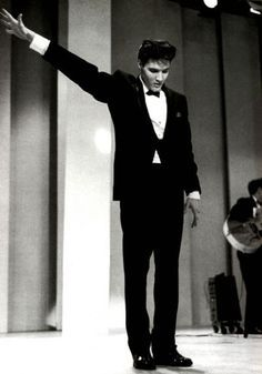 Elvis on the ABC TV - Frank Sinatra's Timex Special in honor of Elvis discharge from the Army,  March, 1960.