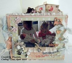 Mijn Clubdag projekt van de club van Tiets van April 2013, de tweeling