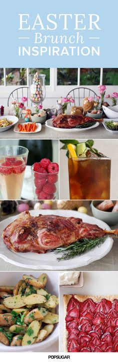 Here is  some colorful inspiration for your Easter table. All of the recipes are fast and easy — from the rosemary leg of lamb to the buttered potatoes to the strawberry tart. And the table decor took no time at all! This menu is meant to come together last minute, so you can spend more time with your family and less time stressing about the meal!
