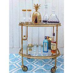 Welp 61 Best Tea Trolley images | Tea trolley, Tea cart, Bar cart styling EL-79