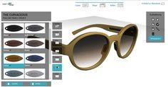 3Dプリンターで自分にぴったりのサングラスをカスタマイズして製作できるツールが登場【おしゃれ】